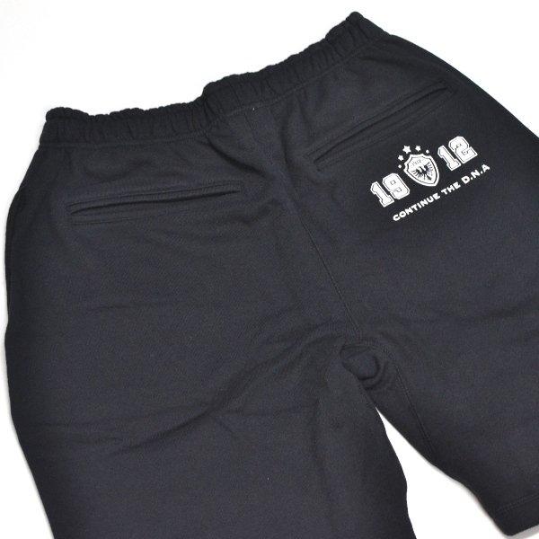 画像1: SALE! 50%off オガサカ OGASAKA フレンチテリー スウェット ハーフパンツ ブラック HALF PANTS BLACK