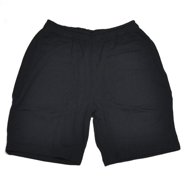 画像2: SALE! 50%off オガサカ OGASAKA フレンチテリー スウェット ハーフパンツ ブラック HALF PANTS BLACK