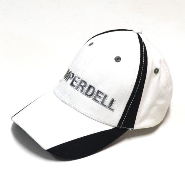 画像1: コンパーデル KOMPERDELL CAP ベースボール キャップ ホワイト