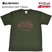 ブラストラック BLASTRACK ドライ Tシャツ Mountain ARMY GREEN アーミーグリーン