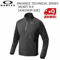 オークリー OAKLEY ジャージ ジャケット ブラック Enhance Technical Jersey Jacket 8.0 02E BLACK OUT