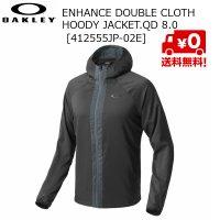 オークリー ダブルクロス フーディー ジャケット ブラック Enhance Double Cloth Hoody Jacket QD 8.0 02E Blackout