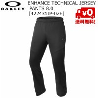 オークリー OAKLEY ジャージ パンツ ブラック Enhance Technical Jersey Pants 8.0 02E BLACK OUT