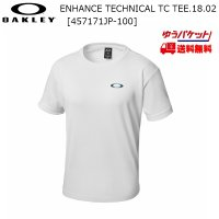 オークリー Tシャツ ホワイト OAKLEY ENHANCE TECHNICAL TC TEE.18.02