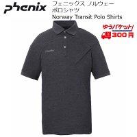 フェニックス ノルウェーチームモデル トランジット ポロシャツ Phenix Norway Transit Polo Shirts CG チャコールグレー