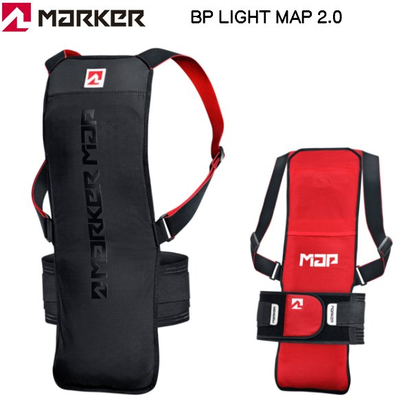 画像1: マーカー プロテクター ライトマップ2.0 MARKER BP LIGHT MAP 2.0 バックプロテクター