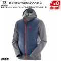 SALOMON サロモン ジップパーカー PULSE HYBRID HOODIE M Night Sky