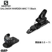 サロモン ビンディング SALOMON WARDEN MNC 11 Black ブラック