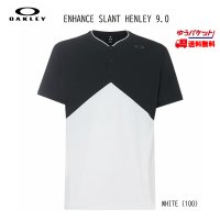 オークリー Tシャツ  OAKLEY Enhance Slant Henley 9.0
