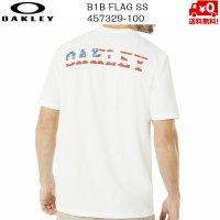オークリー Tシャツ OAKLEY B1B FLAG SS 100 WHITE