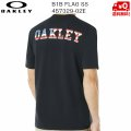 オークリー Tシャツ OAKLEY B1B FLAG SS 02E BLACKOUT