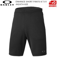 オークリー ショートパンツ  OAKLEY ENHANCE TECHNICAL SHORT PANTS 8.7.01 9inch 02E BLACKOUT