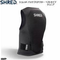 シュレッド ジュニア用 バックプロテクター ベスト SHRED FLEXI BACK PROTECTOR VEST MINI