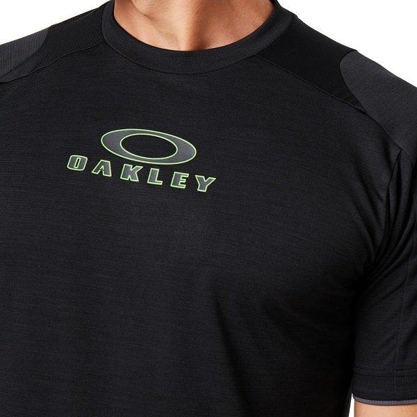 画像2: オークリー エンハンス Tシャツ ブラック OAKLEY Enhance SS Crew 9.7