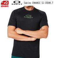 オークリー エンハンス Tシャツ ブラック OAKLEY Enhance SS Crew 9.7