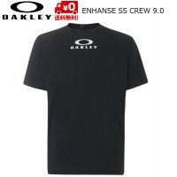 オークリー Tシャツ  OAKLEY Enhance SS Crew 9.0 ブラック