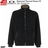 オークリー フリース ジャケット ブラック OAKLEY  Diamond Thermal Fleece FZ BLACKOUT