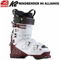 K2 ケイツー スキーブーツ マインドベンダー 90 MINDBENDER ALLIANCE 90 GRIPWALK レディース