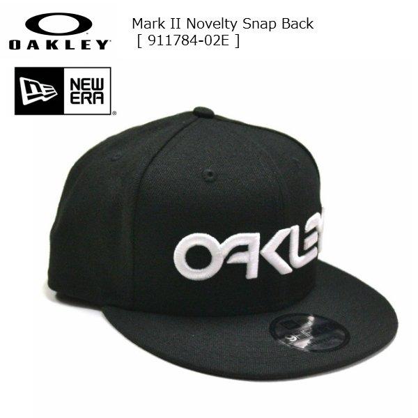 画像2: オークリー ニューエラ キャップ OAKLEY Mark II Novelty Snap Back FATHOM NEW ERA 9FIFTY ブラック
