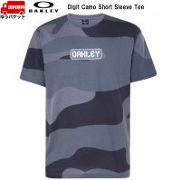 オークリー Tシャツ カモ グレー OAKLEY Digit Camo Short Sleeve Tee Gray Camouflage