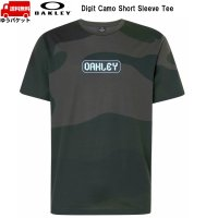 オークリー Tシャツ カモ グリーン OAKLEY Digit Camo Short Sleeve Tee Core Camo