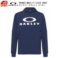 オークリー スウェット パーカー ネイビー OAKLEY ENHANCE MOBILITY FLEECE HOODY BLACK IRIS