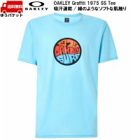 オークリー Tシャツ スカイブルー OAKLEY Graffiti 1975 SS TEE Aviator Blue