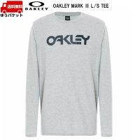 オークリー ロング Tシャツ 長袖 ライトグレー OAKLEY  MARK II L/S TEE  GRANITE HEATHER