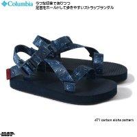 コロンビア サンダル Columbia クスコピア ストラップ Cuscopia Strap 471 carbon aloha pattern