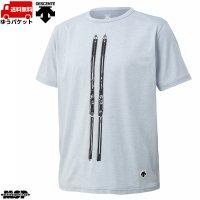デサント スキー Tシャツ グレー GENTEN TEE