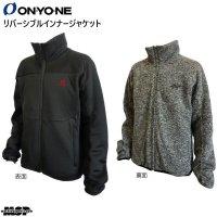 ご予約商品 オンヨネ インナー ジャケット インシュレーションジャケット ブラック ONYONE INSULATION JACK