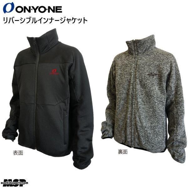 画像1: ご予約商品 オンヨネ インナー ジャケット インシュレーションジャケット ブラック ONYONE INSULATION JACK