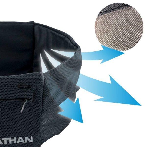 画像2: ネイサン NATHAN ジップスターライト 超軽量 ジップポケット付 サイドメッシュ ランニング用 ウェストバンド ZIPSTER LITE