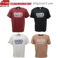 オガサカ ダブルステッチ Tシャツ 5.6オンス OGASAKA