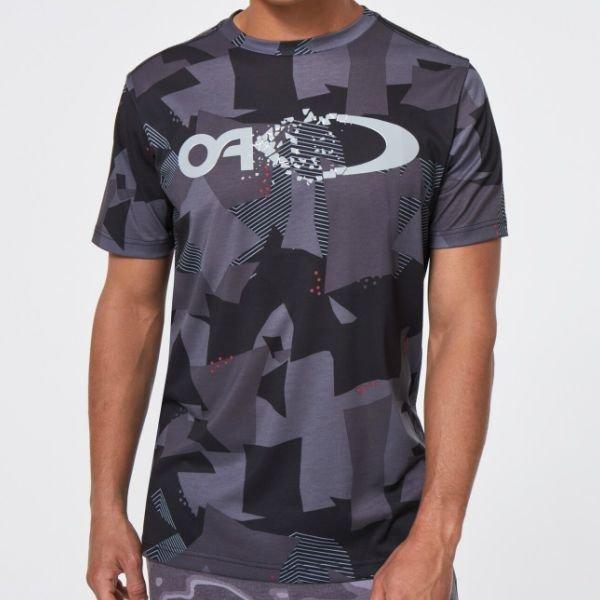画像3: オークリー Tシャツ ブラックプリント OAKLEY QD SS TEE GRAPHIC 10.7 BLACK PRINT