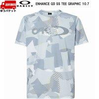 オークリー Tシャツ ホワイトプリント OAKLEY QD SS TEE GRAPHIC 10.7 WHITE PRINT