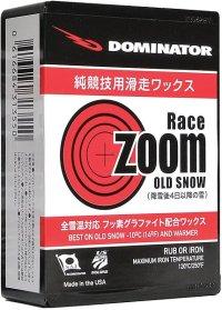 ドミネーター ワックス RACEZOOM OLD SNOW レースズーム 40g