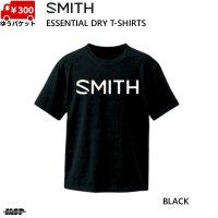 スミス Tシャツ ブラック SMITH ESSENTIAL DRY BLACK