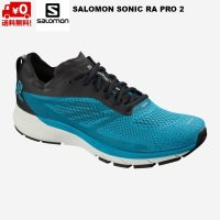 サロモン ランニング シューズ ブルー SALOMON SONIC RA PRO 2 Hawaiian Surf / Black / White