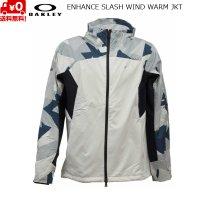 オークリー ウインドブレーカー ジャケット ホワイト  OAKLEY ENHANCE SLASH WIND WARM JKT WHITE
