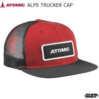アトミック メッシュキャップ アルプス トラッカー キャップ レッド ATOMIC ALPS TRUCKER CAP RED