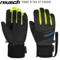 ロイシュ ジュニア スキーグローブ REUSCH TORBY R-TEX XT JUNIOR ブラックメランジ ロイッシュ ロイシュ ジュニア グローブ