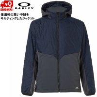 オークリー 中綿入 インシュレーション ジャケット OAKLEY  ENHANCE INSULATION HD JKT 10.7 Black Iris