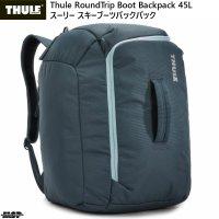 スーリー スキー ブーツバッグ ヘルメット ブーツバックパック ブルー Thule RoundTrip Boot Backpack 45L Dark Slate