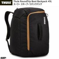 スーリー スキー ブーツバッグ ヘルメット ブーツバックパック ブラック Thule RoundTrip Boot Backpack 45L Black