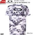 オークリー Tシャツ ホワイトプリント OAKLEY QD SS TEE GRAPHIC 11.0WHITE PRINT