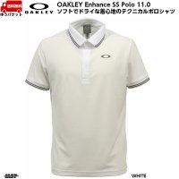 オークリー ポロシャツ ホワイト OAKLEY ENHANCE SS POLO 11.0 WHITE