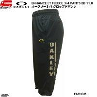 オークリー クロップドパンツ 3/4パンツ ネイビー OAKLEY ENHANCE LT FLEECE 3/4 PANTS BB 11.0 FATHOM