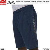 オークリー ショートパンツ OAKLEY ENHANCE TECH JERSEY SHORTS 11.0 9inch 6AC FATHOM