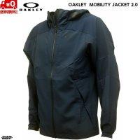 オークリー クロス ウーブン ジャケット ネイビー OAKLEY ENHANCE MOBILITY JACKET 2.0 FATHOM 6AC